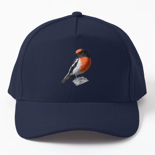 Red-capped Robin 5 Baseball Cap