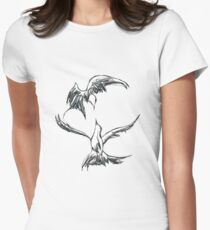 Birds in flight Women's Fitted T-Shirt