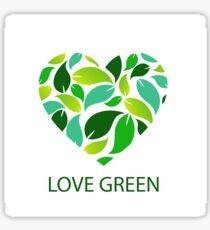 Love green Sticker