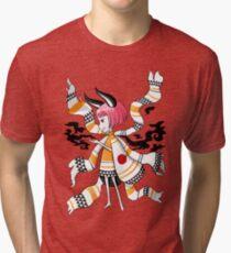 Daemon Girl Tri-blend T-Shirt