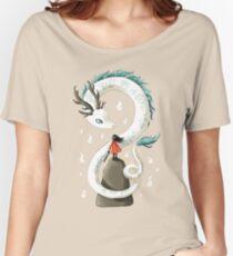 Camiseta ancha espíritu de dragón