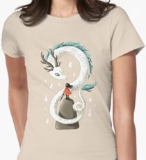Dragon Spirit Women's Fitted T-Shirt