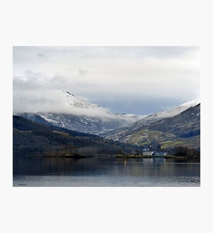 Loch Leven, Scotland Photographic Print