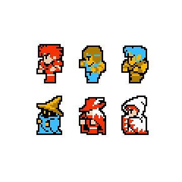 Final Fantasy: Team up (Redux) by muramas