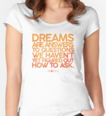 X-Files Dreams Women's Fitted Scoop T-Shirt