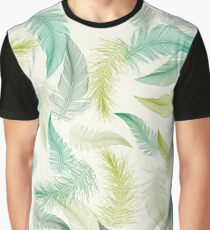 Automn feather Graphic T-Shirt