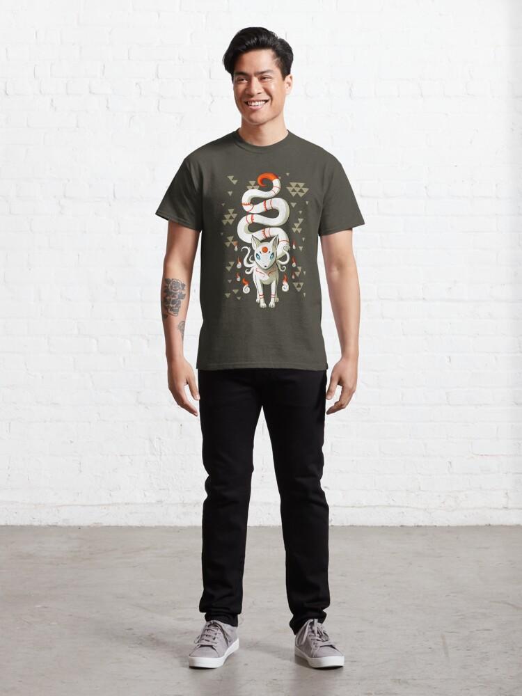 Alternate view of Long Tail Fox Classic T-Shirt