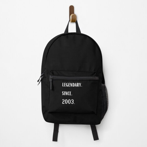 Vintage 18th Birthday legendary Since August 2003 Backpack