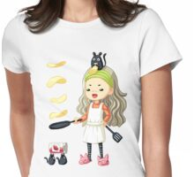 Pancake Master Womens Fitted T-Shirt
