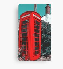 Telephone Box Canvas Print