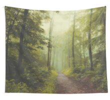 Long Forest Walk Wall Tapestry