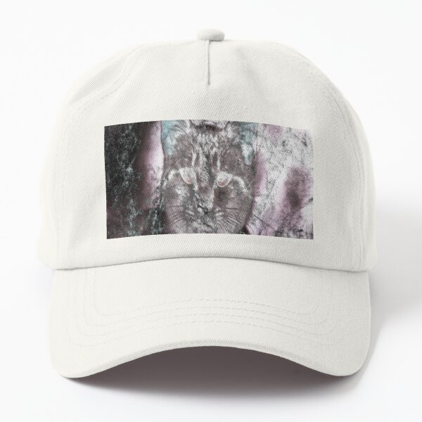 Hold on, I see a cat, Halloween cat! Dad Hat