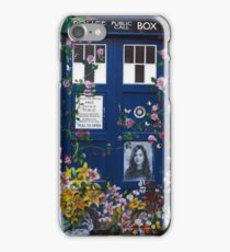 Clara Tribute iPhone Case/Skin
