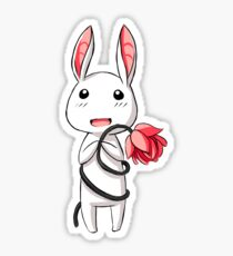 Bunny Flower Sticker