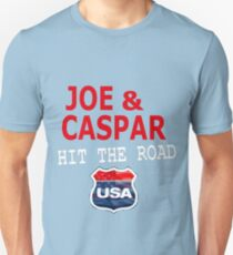 JOE AND CASPAR HIT THE ROAD USA Unisex T-Shirt