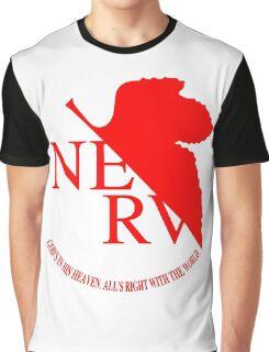 Nerv Logo, Neon Genesis Evangelion Graphic T-Shirt