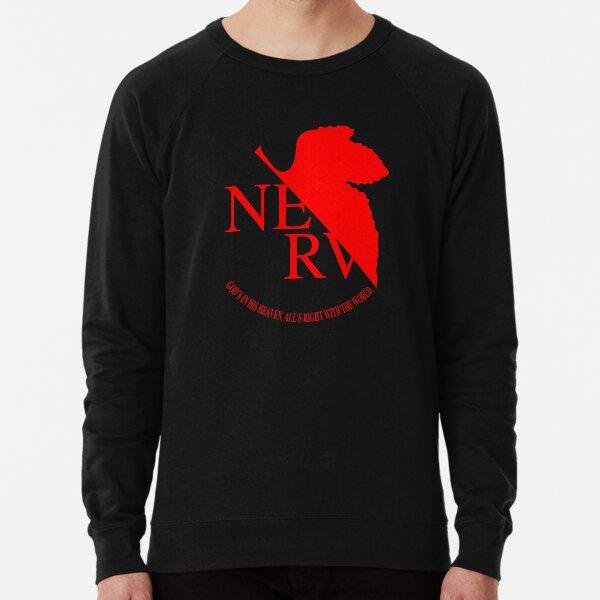 Logo Nerv, Neon Genesis Evangelion Sweatshirt léger