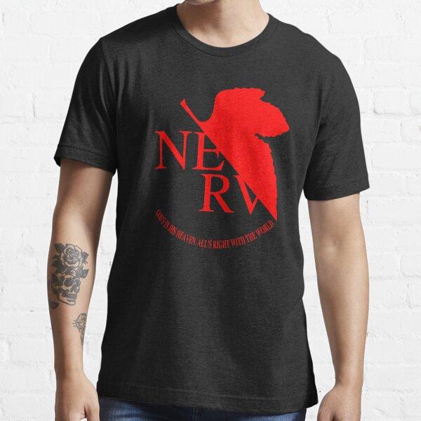 Logo Nerv, Neon Genesis Evangelion T-shirt essentiel