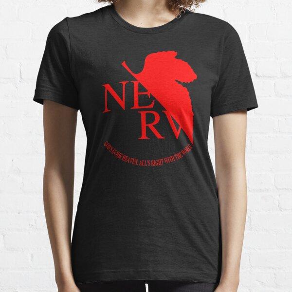 Logotipo de Nerv, Neon Genesis Evangelion Camiseta esencial