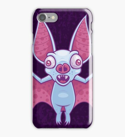 Albino Vampire Bat iPhone Case/Skin