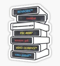Game Cartridges 2 Sticker