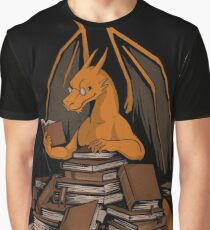 Book Wyrm Horde Graphic T-Shirt