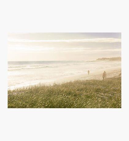Crazy-Hazy Beach Day Dreams Photographic Print