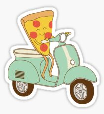 pizza delivery Sticker