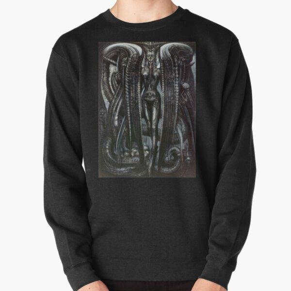 Lilith Steam Punk HR Giger Pullover Sweatshirt