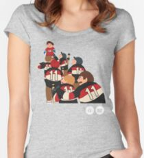 BBG014 — Sweater Women's Fitted Scoop T-Shirt