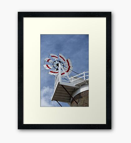 Cley Windmill Fantail Framed Print