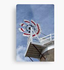 Cley Windmill Fantail Metal Print