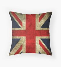 Classic British Flag Throw Pillow