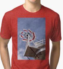 Cley Windmill Fantail Tri-blend T-Shirt