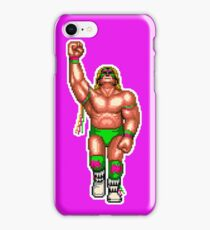 WRESTLEFEST WARRIOR (PINK) iPhone Case/Skin
