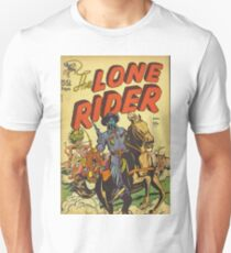 The Lone Rider - Classic Comic Artwork Unisex T-Shirt