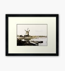 Historical Cley Windmill Framed Print