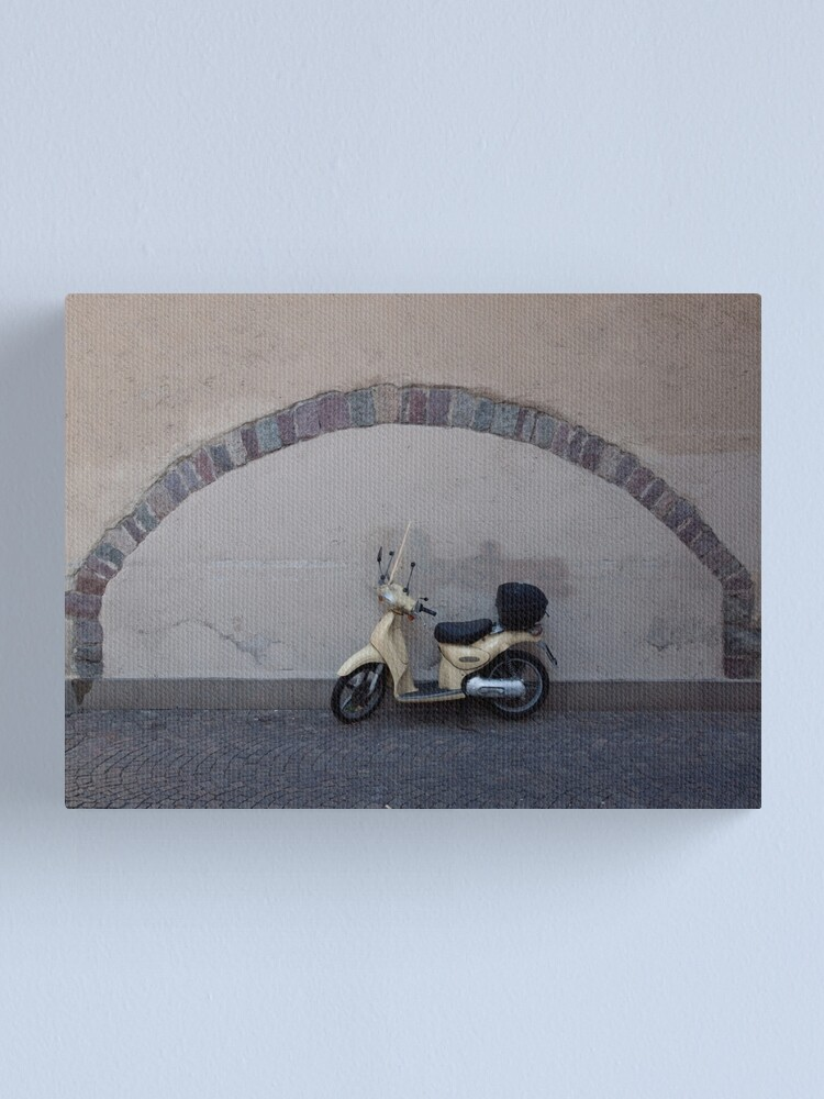 Alternate view of  The perfect parking place, Bolzano-Bozen, Italy, 2009 Canvas Print