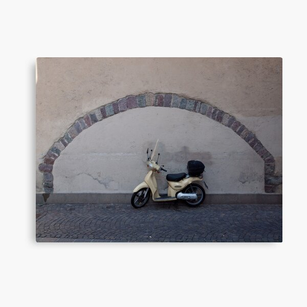 The perfect parking place, Bolzano-Bozen, Italy, 2009 Canvas Print