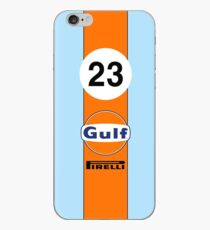 Gulf Oil Racing colours iPhone Case