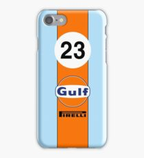 Gulf Oil Racing colours iPhone Case/Skin
