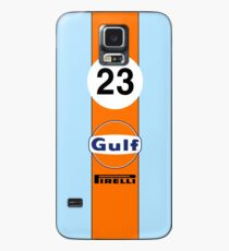 Gulf Oil Racing colours Case/Skin for Samsung Galaxy