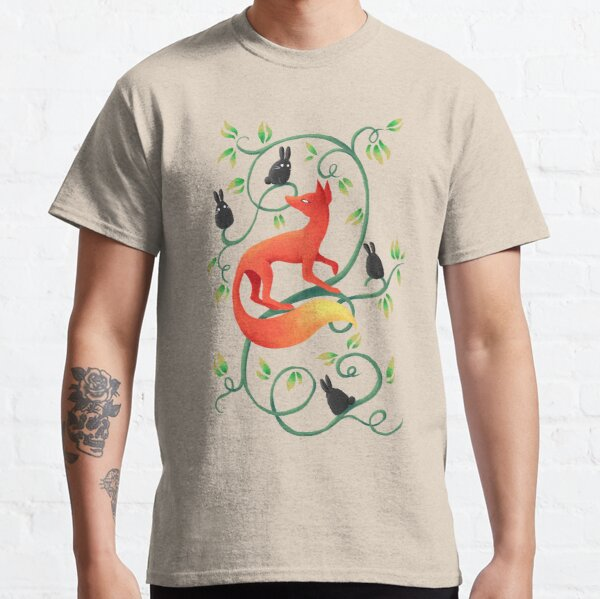 Bunnies and a Fox Classic T-Shirt