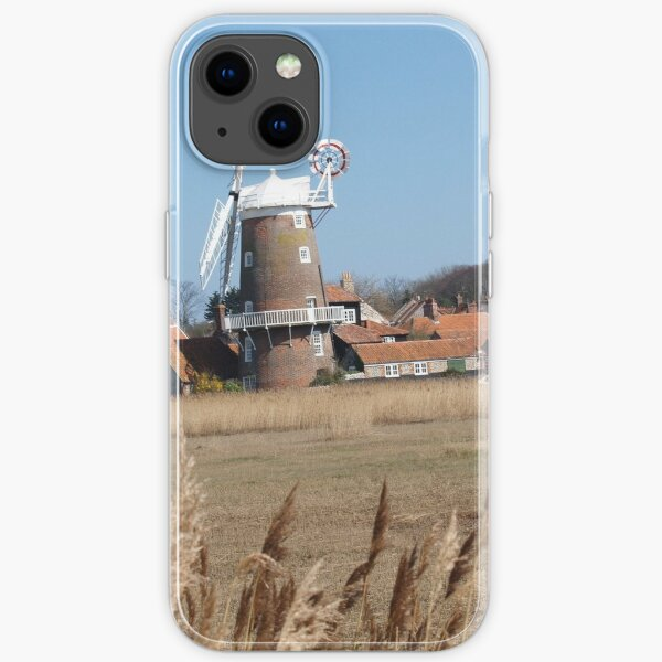 Cley Windmill from the reeds iPhone Soft Case