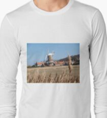 Cley Windmill from the reeds T-Shirt