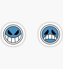 Portgas D. Ace Smileys Sticker