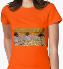 Animals Women's Fitted T-Shirt