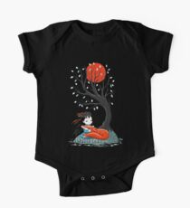 Girl and a Fox 2 One Piece - Short Sleeve