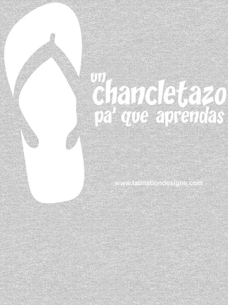 Un Chancletazo! by latindesigner
