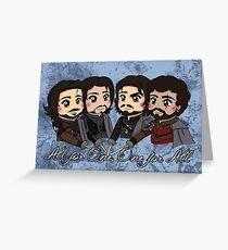 The Musketeers - Season 3 Greeting Card